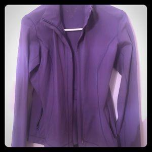 Reebok Purple Yoga Jacket